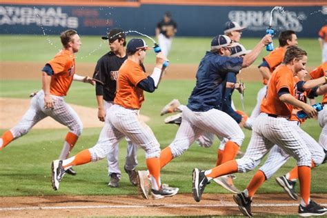 Asu Mba Vs Csumf by Asu Baseball Falls To Cal State Fullerton 3 2 On
