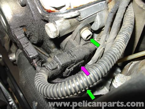 aborted idle timeout 300 sec mercedes benz w210 camshaft position sensor replacement