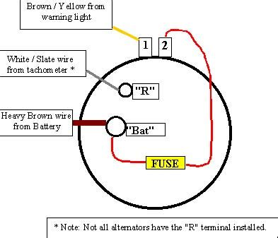 delco alternator 3 wire wiring diagram delco get