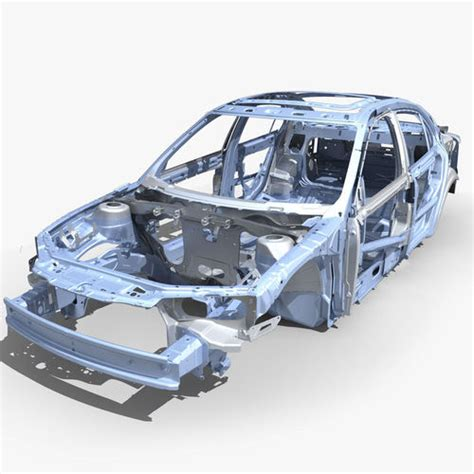 auto gestell 3d car frame 04 cgtrader