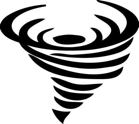 Tornado Black free vector graphic tornado black funnel free