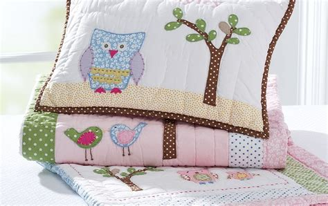 Hayley Nursery Bedding Set Clearly A Birdie Told Me
