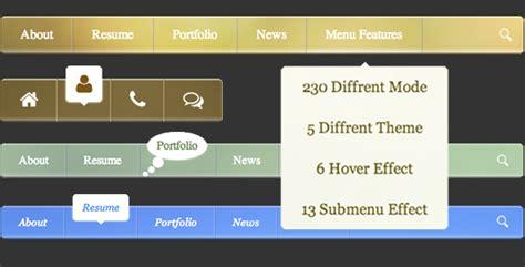 css menu templates free free css menu templates