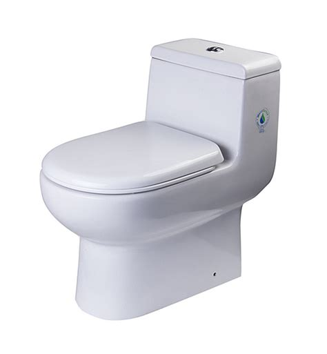 Ftl2351 fresca antila one piece dual flush toilet with soft close