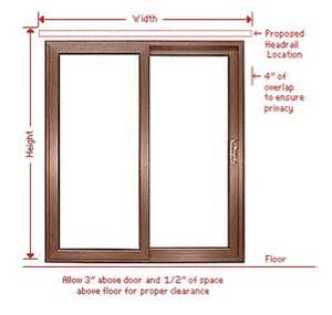 Measuring For Vertical Blinds How To Measure For Blinds Home Decor