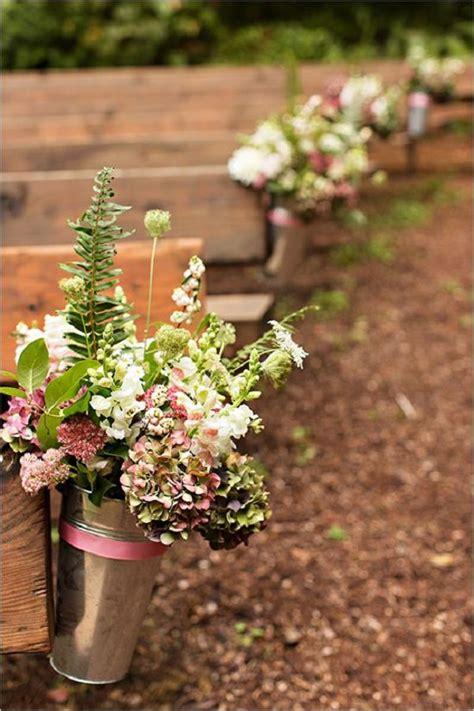 rustic backyard outdoorgarden wedding ideas deer