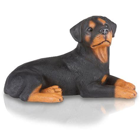 rottweiler figurines figurine urns rottweiler