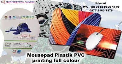 Cetak Mouse Pad jual barang promosi perusahaan mousepad plastik pvc printing colour harga murah kota