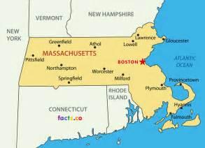 Massachusetts On Map by Massachusetts Map Maps