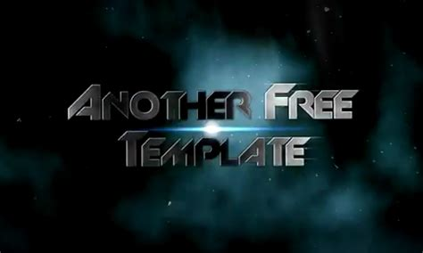 after effects trailer template 20 free after effects templates for designers