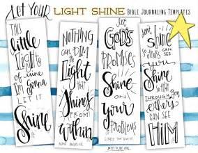 journaling templates free free bible journaling templates let your light shine