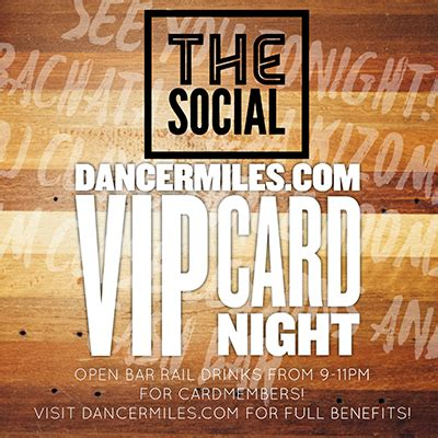Social Saturday Jungle Card The - ticketdini vip card 2016