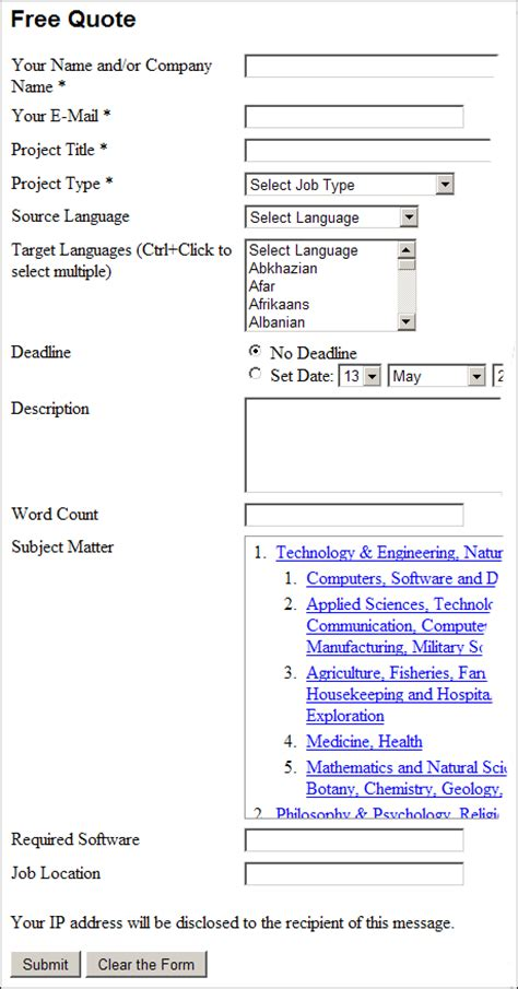 quotation templates for pages translation interpreting editing writing proofreading