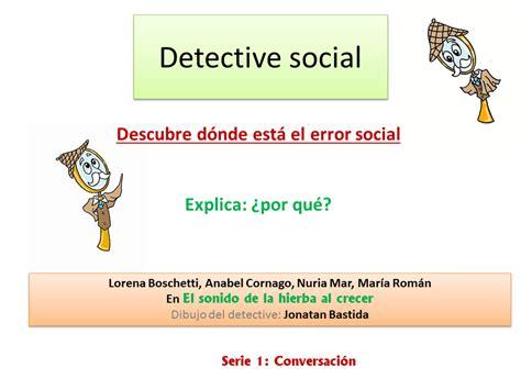social detective worksheets detective social descubre los errores en conversaci 243 n el
