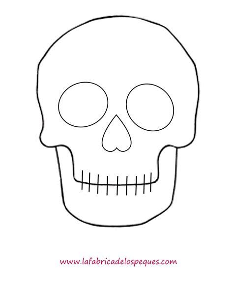 imagenes de calaveras infantiles para colorear plantillas e imprimibles gratis para halloween calaveras
