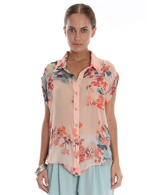 Collection women s short sleeve blouses pictures cleida