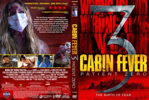 cabin fever patient zero dvd covers labels by covercity