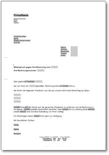 Vorlage Rechnung Zur Ckweisung muster brief rechnung 28 images 5 rechnung stellen