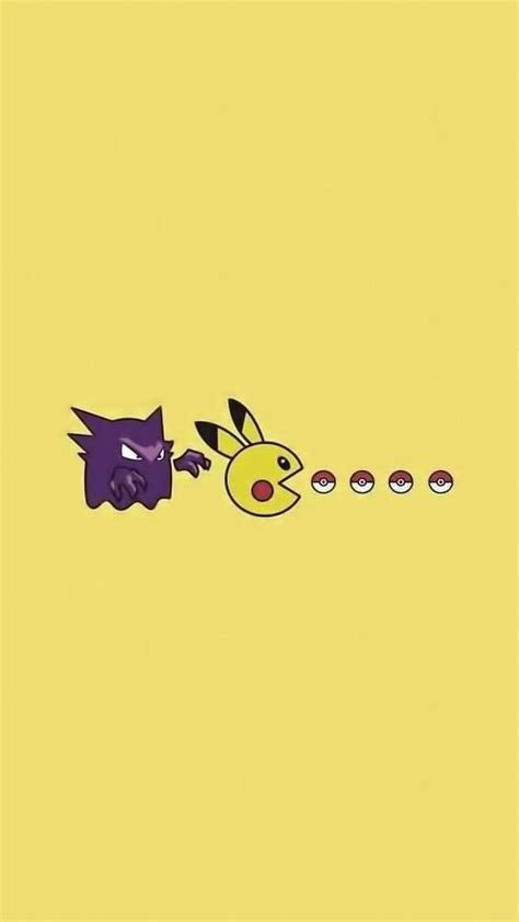 wallpaper for iphone 5 mobile9 pikachu pacman tap to see more pikachu iphone
