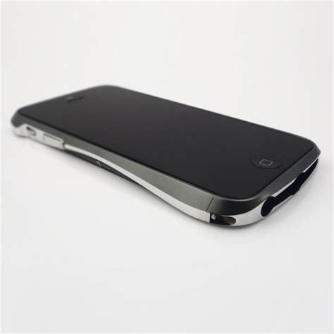 Aluminium Bumper Iphone 5 draco design aluminium iphone 5s 5 bumper in graphite