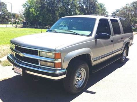 Cliff Anschuetz Chevrolet Chevrolet Suburban For Sale California Carsforsale