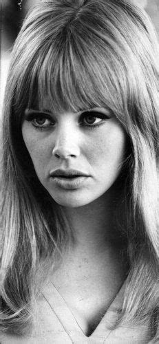 Britt Ekland Long Layered Hairstyles | britt ekland once my hair grows back i will stick to this