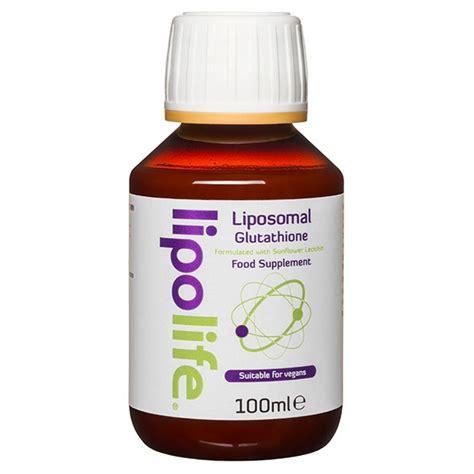 Glutathione Initial Detox Effects by Glutathione Liposomal Anti Ageing Antioxidant 100ml
