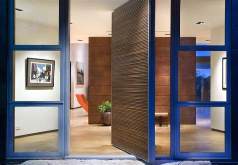 modern pivot front doors stonehedge exteriors