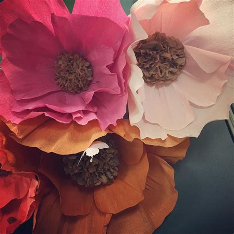 huge paper flower tutorial 60 best images about crepe paper flowers on pinterest