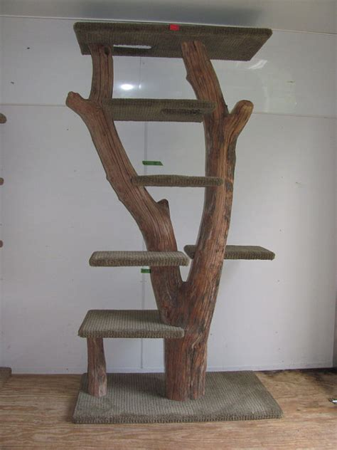 Handmade Cat Trees - items similar to handcrafted driftwood cat tree on etsy