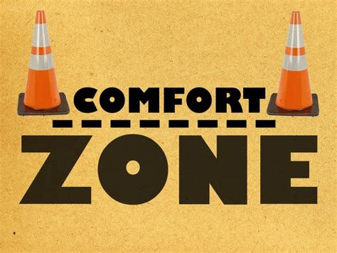 The Comfort uncomfortable in the comfort zone mixed nation