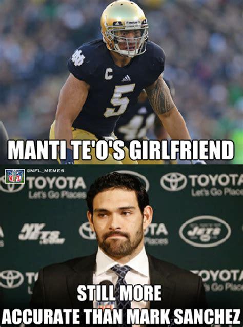 Sporting Memes - geeknation the best of the manti te o memes