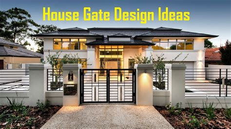 Free Modern House Plans 35 good looking house gate design ideas youtube