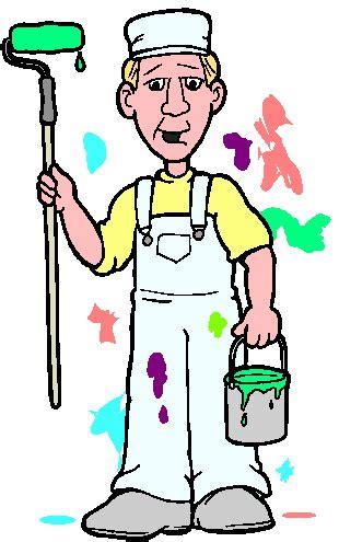 house painter clipart house painter clipart