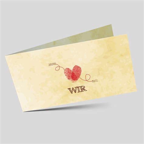 Hochzeitseinladung Fingerprint fingerprint hochzeitseinladung wir