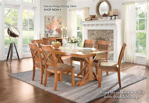 farm table van 93 dining room furniture art van 7 piece extension