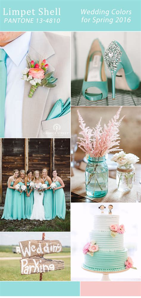 10 wedding colors for spring 2016 trends from pantone