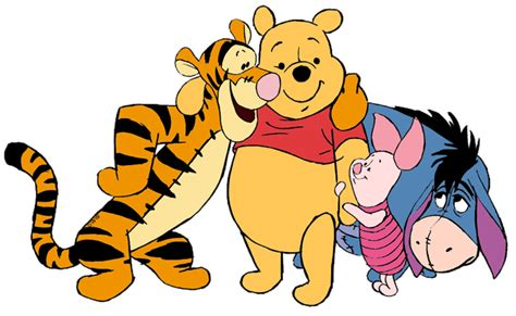 winnie the pooh and friends clip 12 disney clip galore