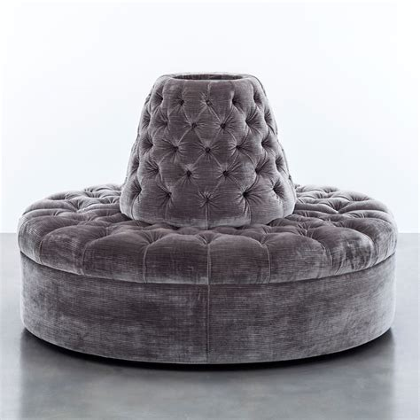 circle banquette settee lobby sofa colette banquette shine by s h o contact avondale