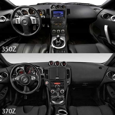 350z interior 350z vs 370z which one is actually better