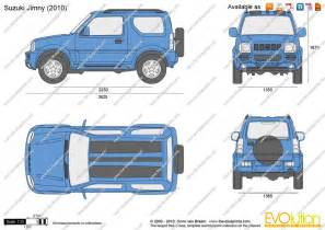 Suzuki Drawing The Blueprints Vector Drawing Suzuki Jimny