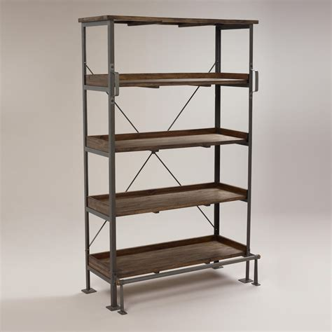 restoration hardware library shelving decor look
