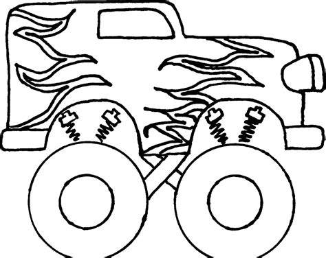 Printable Grave Digger Coloring Pages Coloring Me Grave Digger Coloring Page Jam