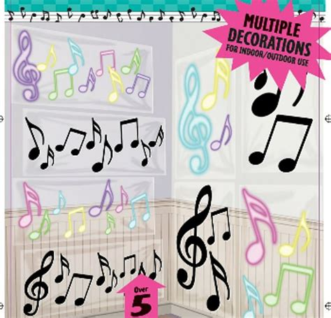 decorations musical theme themed decorations musical