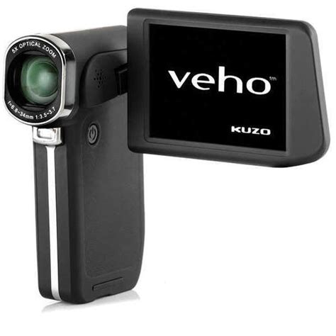 Hd 002 Rubber veho kuzo high definition 1080p hd camcorder