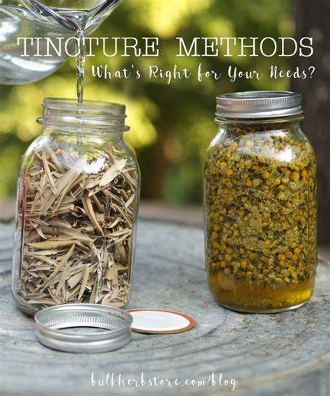 Bhs Detox by Tincture Methods What S Right For Your Needs Bulk Herb