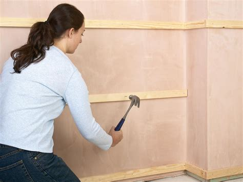 how to install tongue and groove wainscot paneling how