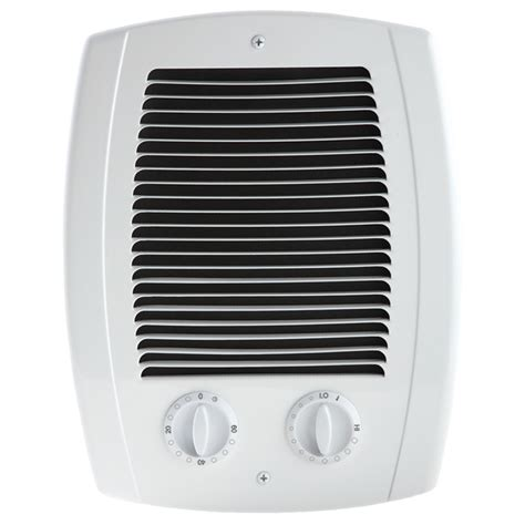 lowes bathroom heater shop cadet com pak bath 1000 watt 120 240 volt fan heater