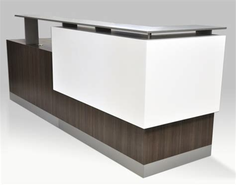 white curved reception desk business office furniture reception desks wood office