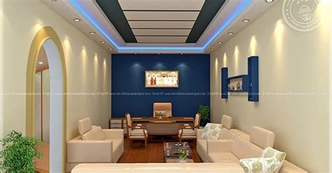 home office interior design by siraj v p home kerala plans home office interior design by siraj v p kerala home